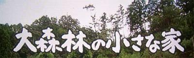 「大森林の小さな家」