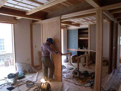 sayuri_House 杉の建具