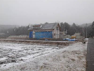 goma_House—2月11日 雪