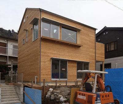 kotori_House—足場が取れました