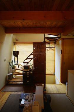 shijimi_Houseの階段