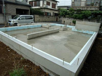Tomy-rinmei_House—基礎工事完了