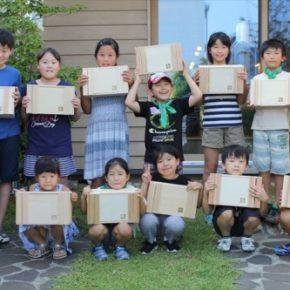 夏休み親子工作教室を開催しました
