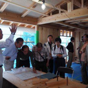成増の家 構造見学会を開催しました